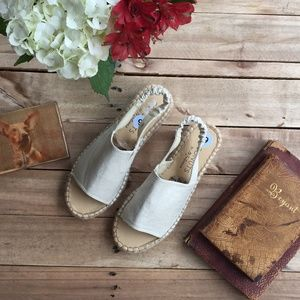 """Coconuts By Matisse """"Darling"""" Espadrille Sandals 9"""
